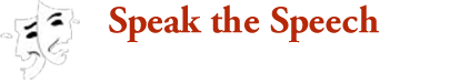 Speak the Speech Theatre Company