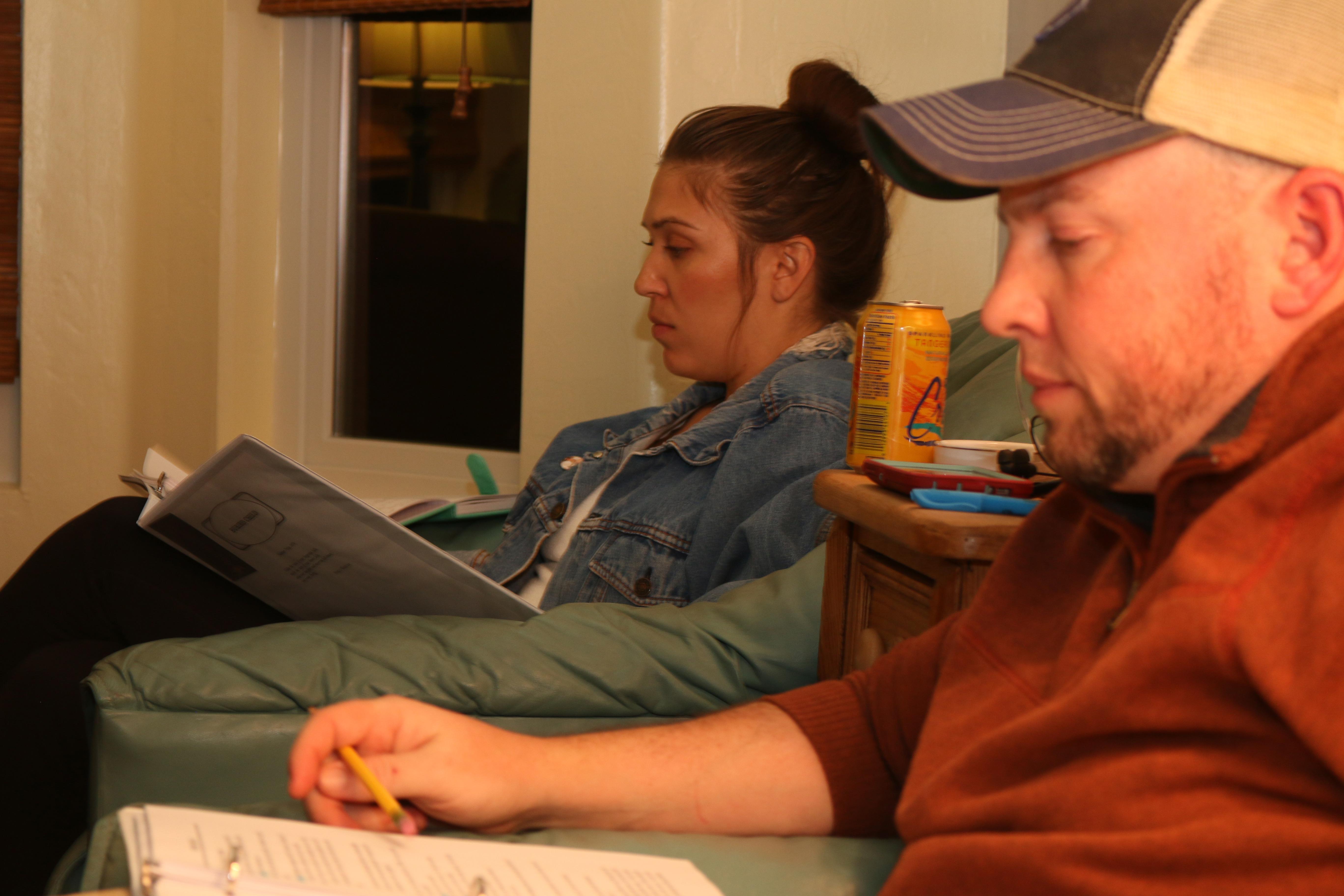 Shelly (Veronica Conrad) & Tilden (Boz Lomasney)